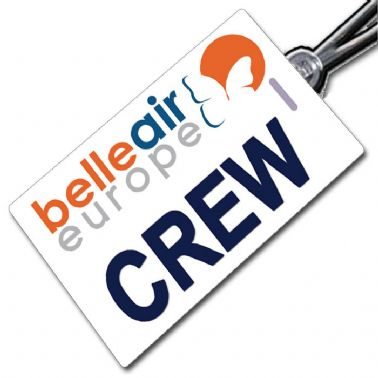 Belle Air Europe Crew Tag